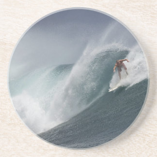 Abstract surfing sea wave coaster
