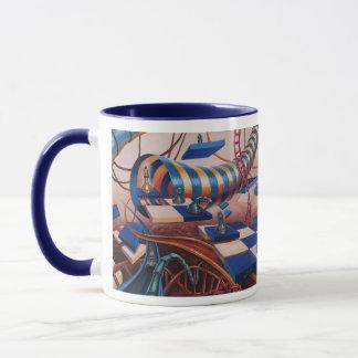 Abstract Surreal Mug
