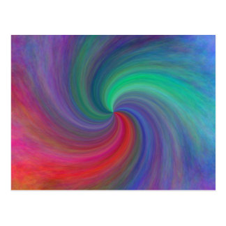 Abstract swirl #12, gifts postcard