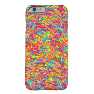 Abstract Swirl Barely There iPhone 6 Case