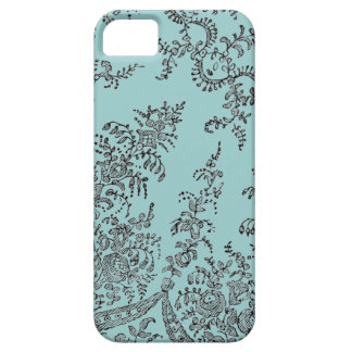 Abstract swirl lace pattern iphone 5 cases