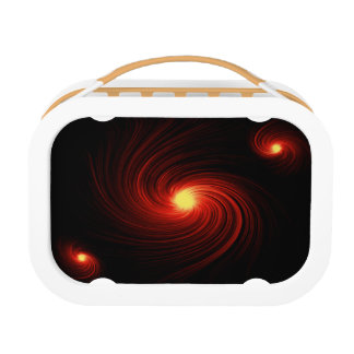 Abstract swirl. lunch box
