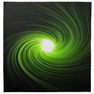 Abstract swirl. napkin