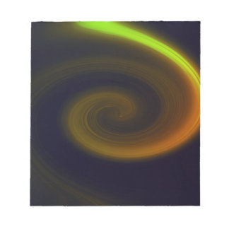 Abstract swirl. notepad