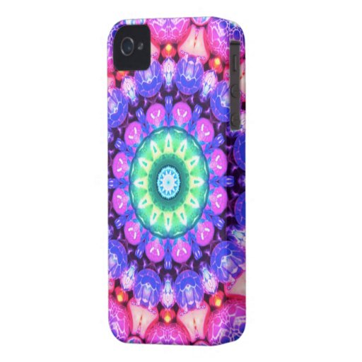 Abstract swirl pattern iPhone 4 cases