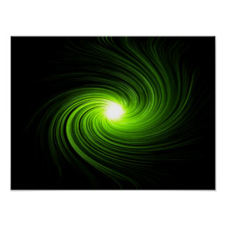 Abstract swirl. poster