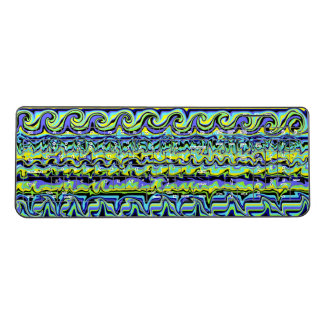 Abstract Swirl Stripe Wireless Keyboard