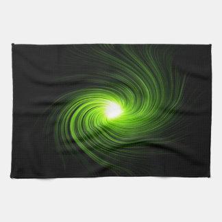 Abstract swirl. tea towel