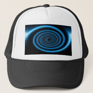 Abstract swirl. trucker hat