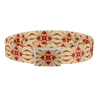 Abstract symbolism belt