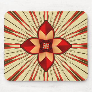 Abstract symbolism mouse pad
