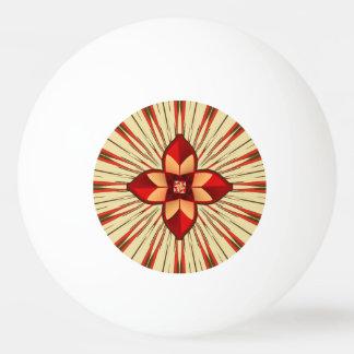 Abstract symbolism ping pong ball