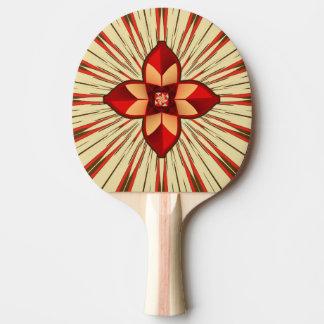 Abstract symbolism ping pong paddle