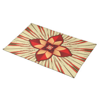 Abstract symbolism placemat