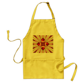 Abstract symbolism standard apron