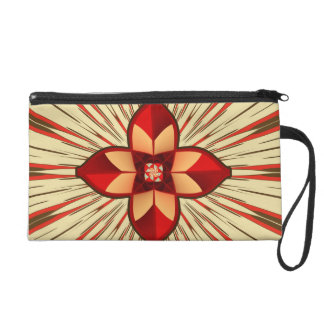 Abstract symbolism wristlet