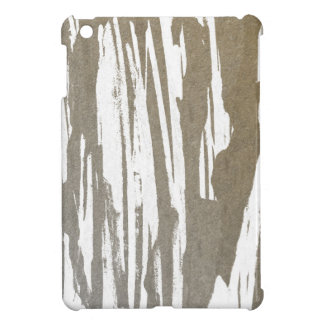 Abstract Taupe Splash Design iPad Mini Cases
