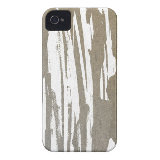 Abstract Taupe Splash Design iPhone 4 Covers