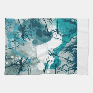 Abstract Tea Towel