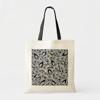 Abstract Teardrop Leaf Tote Bag