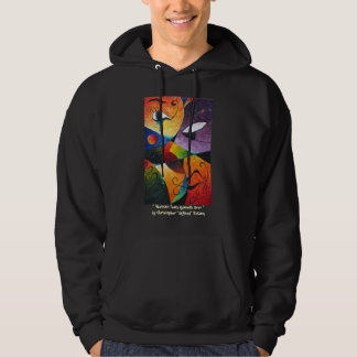 Abstract Tears Runneth Over by Christopher -ORA... Hoodie