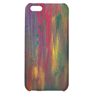 Abstract - Tempera - Night Fall iPhone 5C Covers