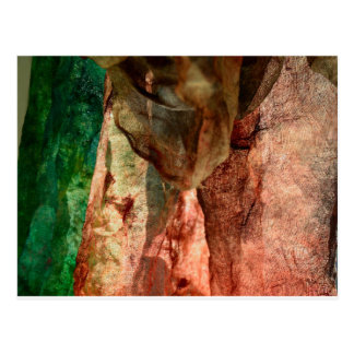 Abstract textiles fabric photo postcard
