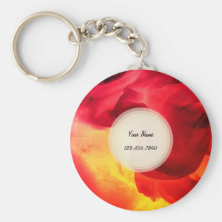 Abstract Texture Key Ring