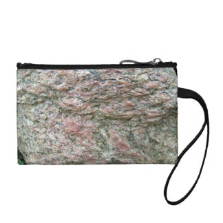 Abstract texture of Isolated Rock Coin Purses