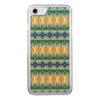 Abstract Textured Pattern Carved iPhone 7 Case