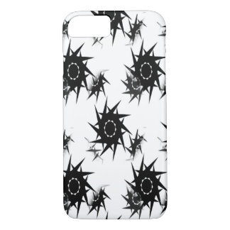 Abstract thorny design i-phone case