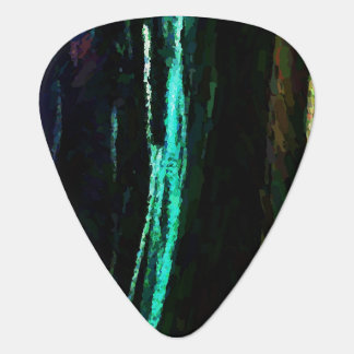 Abstract Three Lines Plectrum