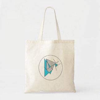 Abstract Tote Budget Tote Bag