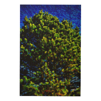 Abstract Tree 478 Wood Wall Decor