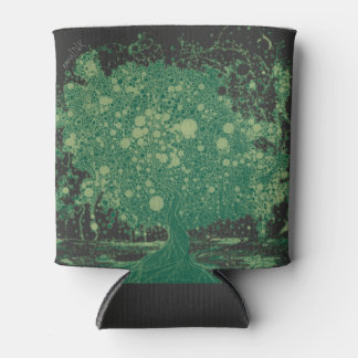 Abstract Tree Beer Cooler Bold