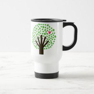 Abstract Tree Hugger Travel Mug