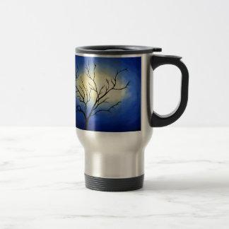 Abstract Tree - Modern Art Travel Mug