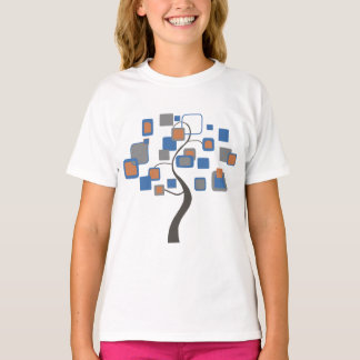 Abstract Tree of figures colorful T-Shirt