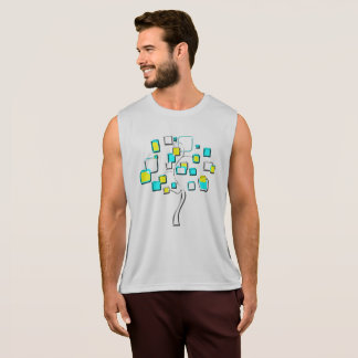 Abstract Tree of figures metal Singlet