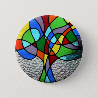 Abstract Tree of Life Badge