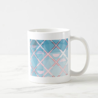Abstract triangulate XOX Design Coffee Mug