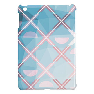 Abstract triangulate XOX Design Cover For The iPad Mini