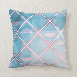 Abstract triangulate XOX Design Cushion
