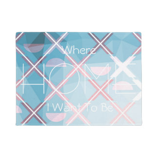 Abstract triangulate XOX Design Doormat