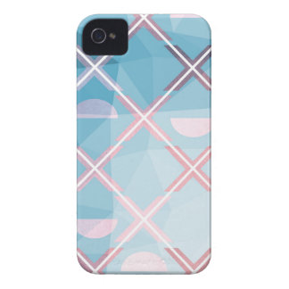 Abstract triangulate XOX Design iPhone 4 Case-Mate Cases