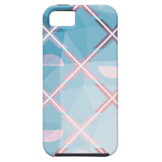 Abstract triangulate XOX Design iPhone 5 Case