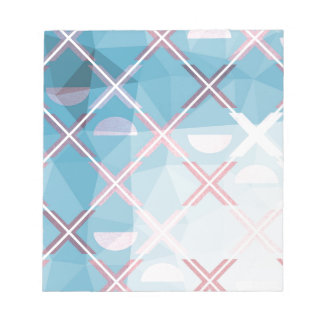 Abstract triangulate XOX Design Notepad