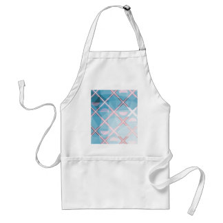 Abstract triangulate XOX Design Standard Apron