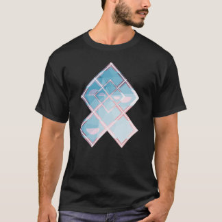 Abstract triangulate XOX Design T-Shirt