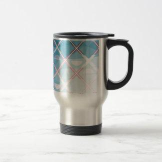 Abstract triangulate XOX Design Travel Mug